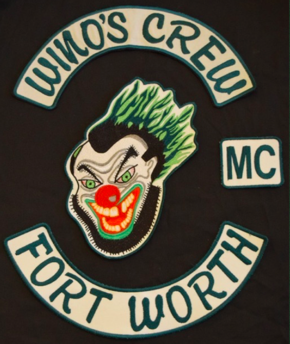 Motorcycle Club Patches Motorcycle Club Back Patch Wino's Crew MC (Motorcycle Club) - One Percenter Bikers